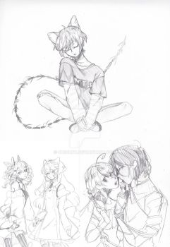 doodles by chizuny