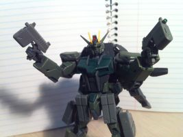 K9 Strike Gundam Double Beam Pistol by AxelHenson