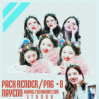[PACK RENDER/PNG #7] - 7PNGs Nayeon by xhangelf