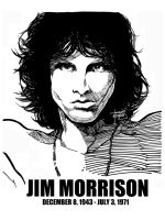 DSS No. 1 - Jim Morrison by gothicathedral