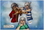 Meanwhile in Bakura's soul room ... by Caroblan