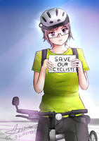 SAVE OUR CYCLISTS by Anomonny