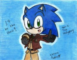 Crossover: APH - Sonic The hedgehog by MOON231