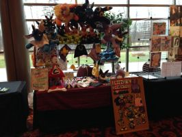 Ichibancon Artist Alley Table 2014 by PakajunaTufty