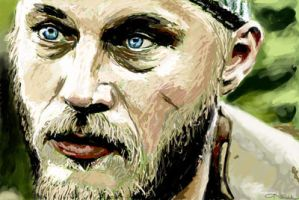Ragnar from VIKINGS by riri74