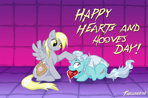 Happy Hearts and Hooves Day! by Dembai