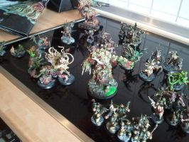 warhammer chaos nurgle deathguard group shot by skincoffin