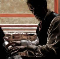 Hugh Laurie Blues by Hockypocky