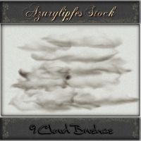 psp 9 cloud brushes by AzurylipfesStock