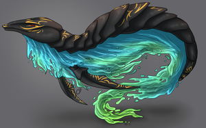 Tropical Fanale Design (AUCTION, CLOSED) by ChamberedNoctilus