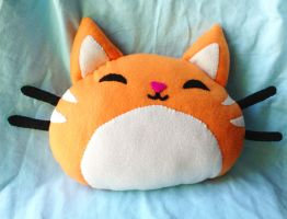 Pudgins the cat plushie by XOFifi