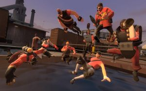 Team Fortress 2 Pool Party by ksam84
