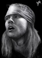 Axl Rose by Balduf