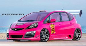 Honda Fit by GUZSPEED