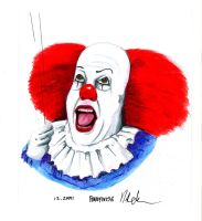 pennywise by nherdmann
