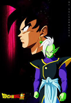 Black and zamasu by salvamakoto