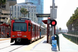 San Diego Trolley by artbybjm