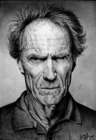 Clint Eastwood by bojao