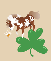 Pony Shamrock Comish YHH 26 - Orchidor by TheNapier