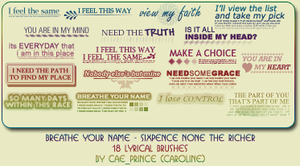 Breathe your name by artsy-cae