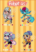 Adopties -Auction- { CLOSED } by CrypticInk
