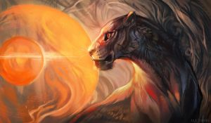 The Lioness of Sun by Exileden