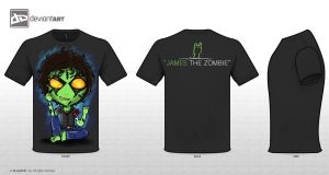 James The Zombie by Hanna21