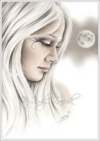 Silver Moon by Zindy