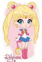 Chibi Sailor Moon by Dollphane