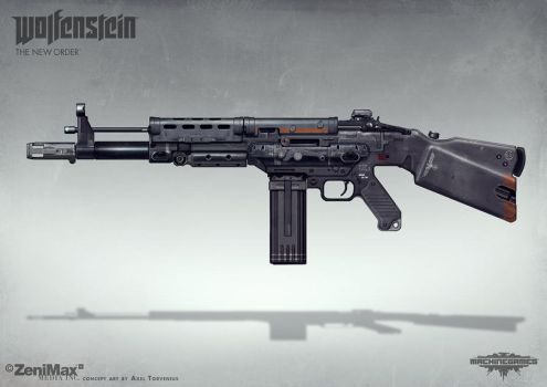 Wolfenstein: The New Order - AR 60 by torvenius
