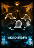 Poster - #006 Charizard by romus91