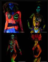 Body art Models 1 by dragonhuntr
