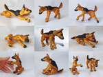 Ball Jointed German Shepherd by vonBorowsky