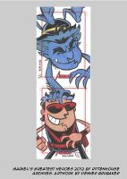 MGH2012 sketchcards 15 by thecheckeredman