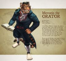 Feral Fantasy Tactics - Mercutio by Rhandi-Mask