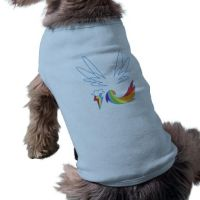 Wings Dog Tee by spot1the2dog3