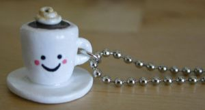 Kawaii Cappuccino Necklace by jbphillips