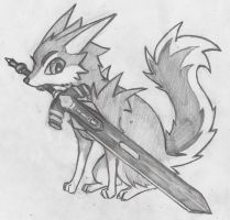 Great Grey Wolf Sif - Minoized by Doucepattes