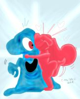 Blob Vs. Jelly by qwertypictures