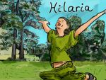 Hilaria (25th March) by LauraSeabrook