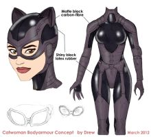 Catwoman Bodyarmour Concept by DrewGardner
