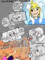 Finnceline comic pg.3 by Caxuate