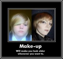 The power of make-up. by Mary--Sue