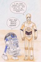 C3po and R2D2 of FOB colour by Seraph5
