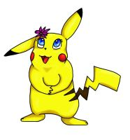 Pikachu by moltres93