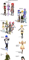 MMD - Emmychans Pose Pack 5 by emmystar