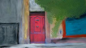 Red Door Rectangulared by zasu by Hermione75