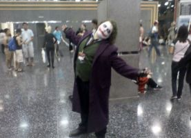 Joker Cosplay by CRPass