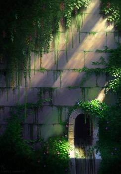 Garden Wall by krazykrista