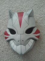 Cheshire Mask Progress 3 by MaskedMenoly